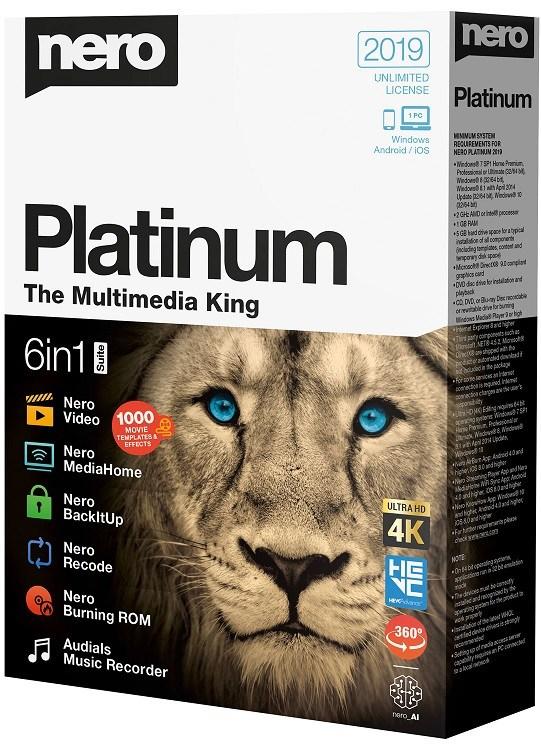 Nero 2019 Platinum Full Crack With Serial Key Download
